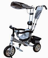 Велосипед 3-х колесный MiniTrike LT950, серебристый