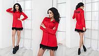 """Стильное молодежное платье мини """" #PLEIN """" Dress Code , фото 1"""