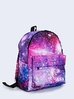 Красочный рюкзак Звездное сияние с классным рисунком.