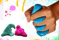 Жвачка для рук - Handgum - Хендгам Яркая и перламутровая Ароматизированная, фото 1