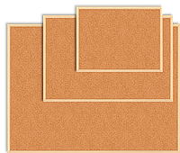 Доска пробковая 60х90 см, дерев. рамка BM.0014