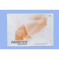 ПАРИЕТЕКС сетка для диафрагмальных грыж с обьемного полиэстера и рассасывающей коллагеновой пленкой 8.5х8см