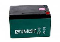 Аккумулятор тяговый свинцово-кислотный 12 V 12AH, фото 1