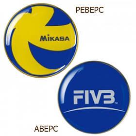 Монета для жеребьевки Mikasa Toss Coin TCVA