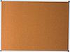 Доска пробковая 90х120 см алюмин. рамка BM.0018