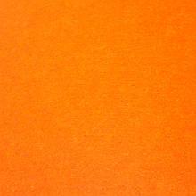 Фетр жорсткий 3 мм, 50x33 см, ЯСКРАВО-ПОМАРАНЧЕВИЙ (супер жорсткий), Китай