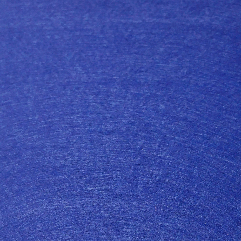 Фетр жесткий 3 мм, 50x33 см, СИНИЙ