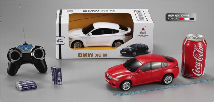 Машина на радіокеруванні BMW X6