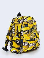 Яркий городской рюкзак с модным принтом Миньоны