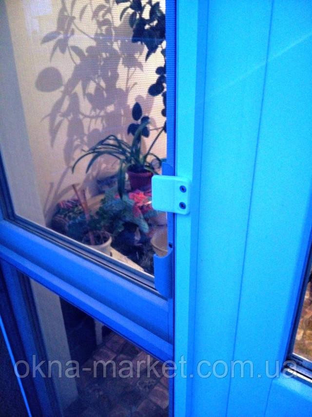 Антимоскитная сетка на дверь заказать Соломнека