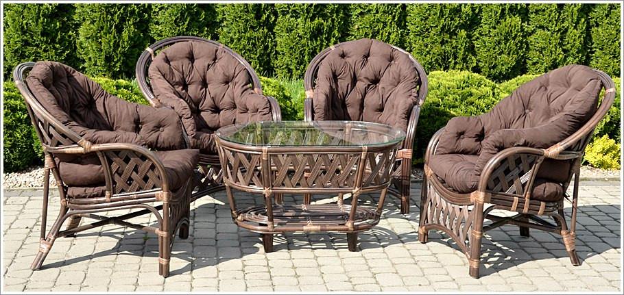 Комплект садовой мебели из ротанга CASABLANKA, фото 1