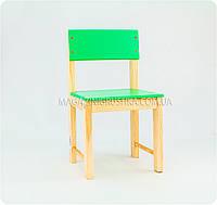 Детский стульчик (зеленый)
