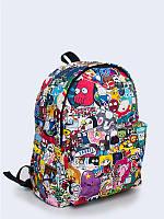 Яркий рюкзак Мультфильмы с прикольным рисунком.