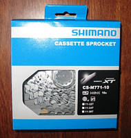 Велосипедная кассета  Shimano Deore xt cs-m 771-10  11-34t (10 speed), фото 1
