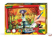 "Danko Toys Картина по номерам ""Осень"" арт. KN-01-04"