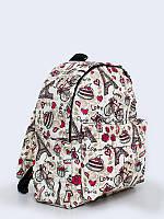 Стильный рюкзак Прекрасный Париж с милым рисунком.