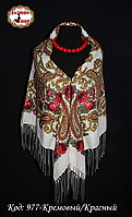 Женский  павлопосадский платок Анастасия