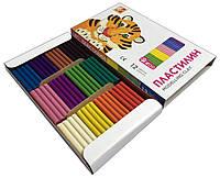 Пластилин детский ЛУЧ ZOO (12 цветов) для лепки и моделирования