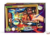 """Danko Toys Картина по номерам """"Венеция"""" арт. KN-01-09"""