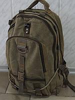 Большой брезентовый рюкзак для охоты и рыбалки GOLD BE! 902 хаки