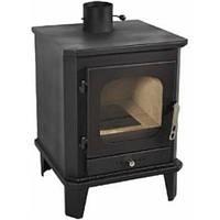 Печь-камин на твердом топливе для отопления домов