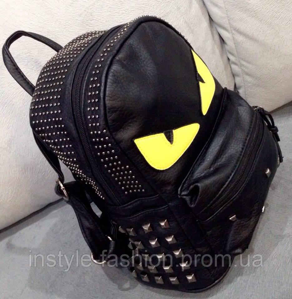 Рюкзак с глазами