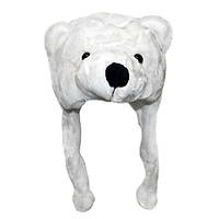 Шапка с ушками Белый медведь