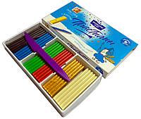 Пластилин детский ЛУЧ Престиж (6 цветов) для лепки и моделирования