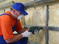 Тепло/шумо-изоляция простенков миниральной ватой