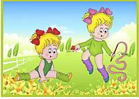 Стенд для детского сада Гимнастика