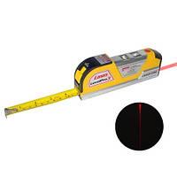Рулетка с лазерным уровнем Laser level pro 3