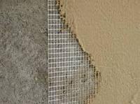 Армирование поверхности стен стекноволокном