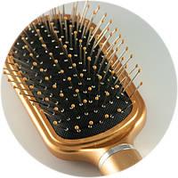 Расческа массажная з железными зубами DAGG 9585 SHARXP, фото 1
