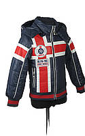 Куртка  для мальчиков, теплая,  демисезонная 2-6 лет цвет красный