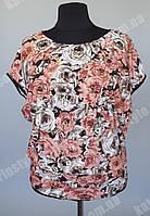 Модная женская футболка с рукавом реглан