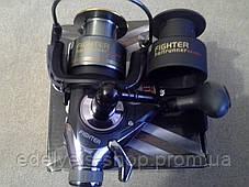Катушка с байтранером BratFishing Fighter 4000 Baitrunner (4+1), фото 3