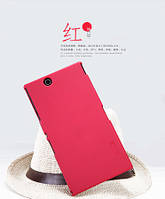 Чехол Nillkin для Sony Xperia Z Ultra C6802 красный (+плёнка)