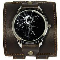 Эксклюзивные часы Разбитое стекло