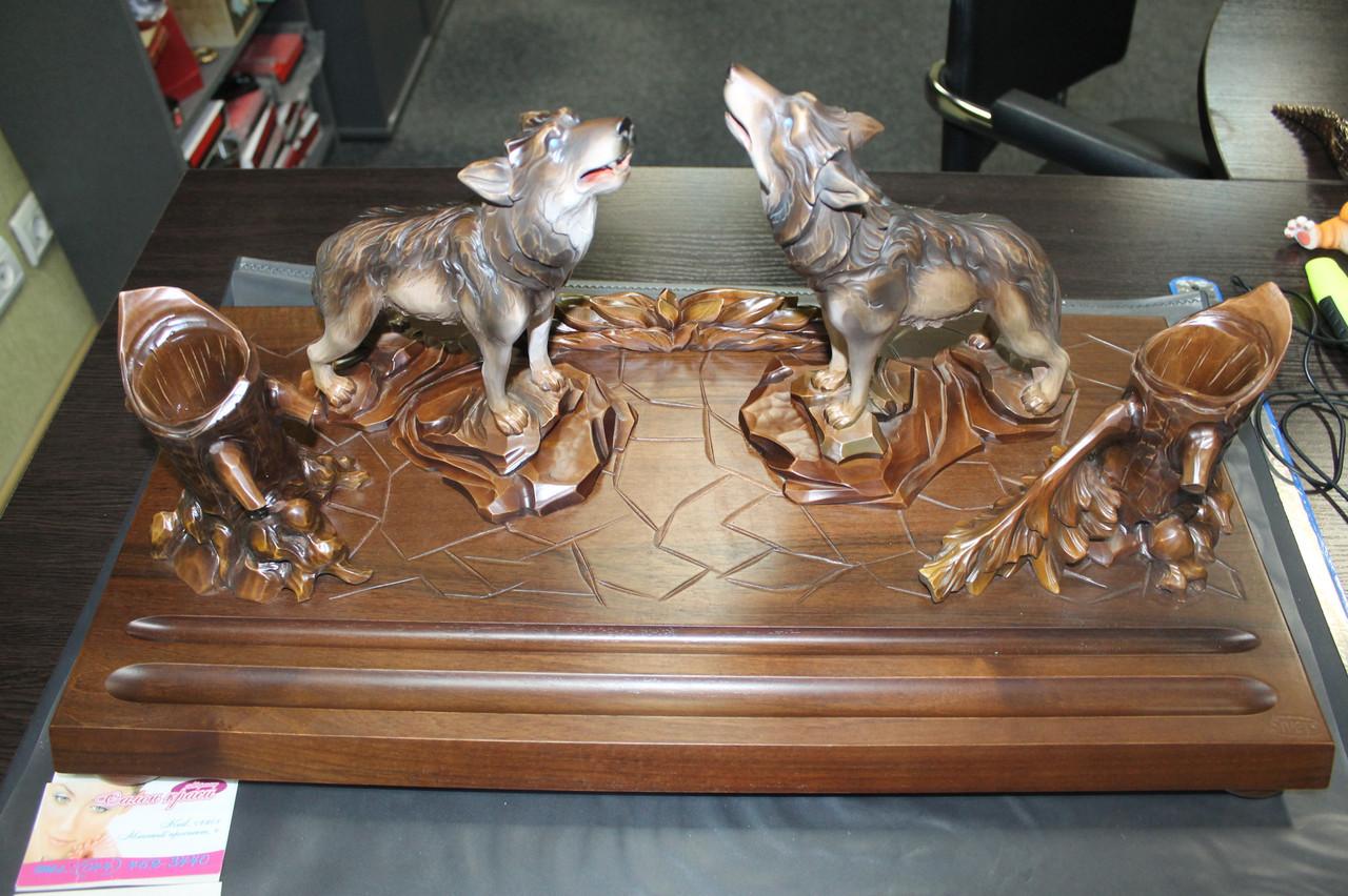 Эксклюзивные подарки с волками