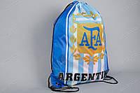 """Сумка мешок-рюкзак """"ALLPRINT"""" cборной Аргентины, фото 1"""