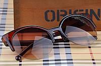 """Коричневые солнцезащитные очки """"кошачий глаз"""""""