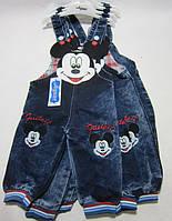 Джинсовый комбинезон для мальчика Микки Маус Размер 0 - 6 мес.