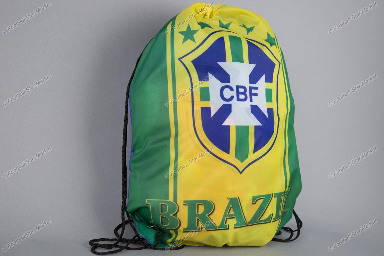 """Сумка мешок-рюкзак """"ALLPRINT"""" сборной Бразилии"""