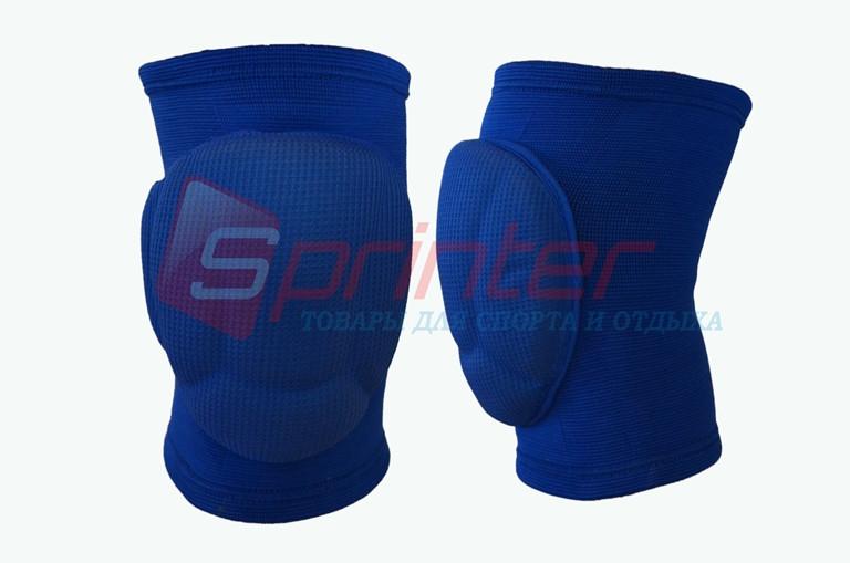 Наколенники волейбольные, модель ASICS. Синие. 776