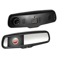 Автомобильное зеркало заднего вида со встроенным монитором и двухканальным видеорегистратором GT BR35