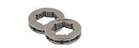 Звездочка-кольцо для бензопил, шаг 0.404, 7 зубьев, большая посадка