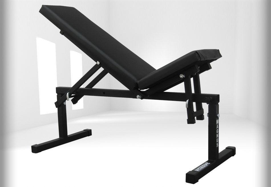 Универсальная скамья для жима лежа MAGNUS L-005 регулируемая
