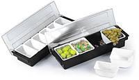 Ящик Бармена 4 секции Empire 0129 пищевой пластик