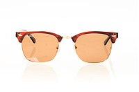 Очки Ray Ban Clubmaster Brown-Gold-Brown 8189