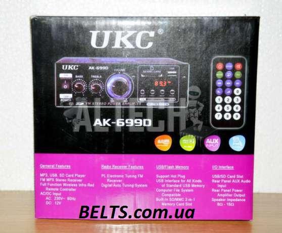 Звуковой усилитель AК 699 UKC (УКС 699)